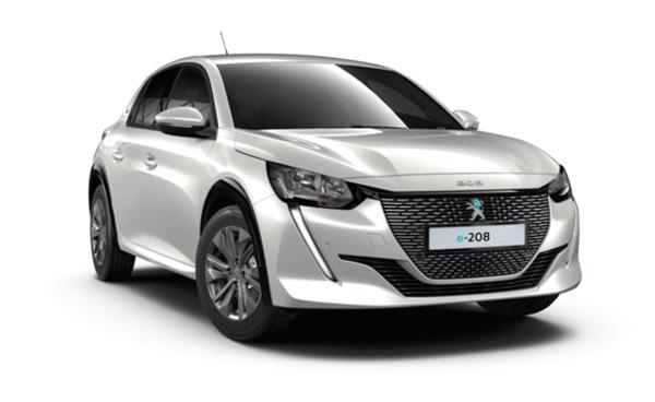 Vehículo eléctrico Peugeot e-208