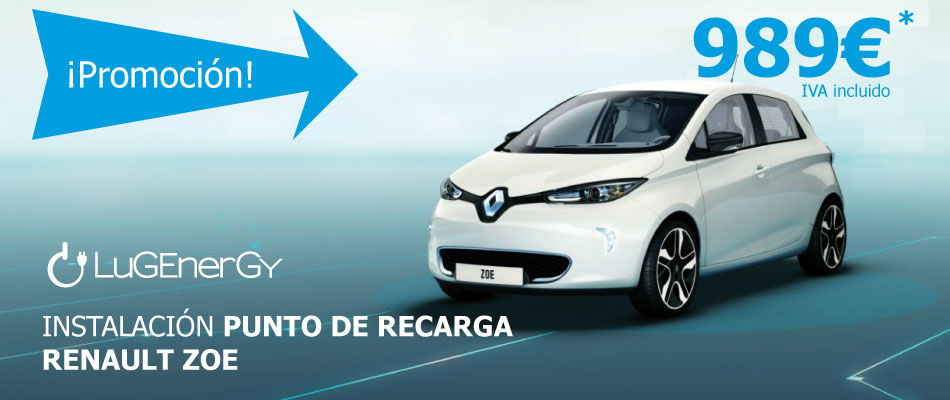 Instalación punto de recarga Renault ZOE