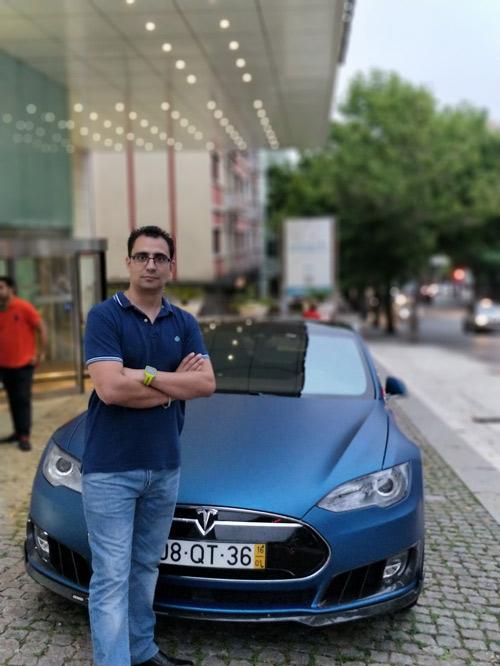 Luis Cejalbo en el V Encuentro Nacional de Vehículos Eléctricos - ENVE 2017 en Portugal