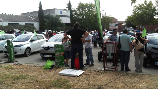 Exposición vehiculos electricos