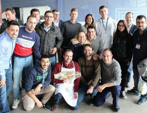 II concurso de paellas startup wallboxok