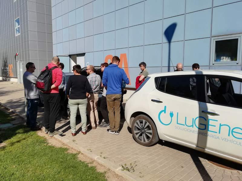 exposicion de vehiculos electricos upv