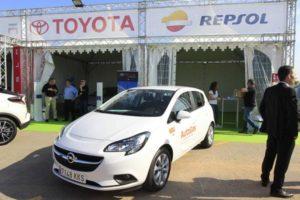 exposición vehículos eléctricos