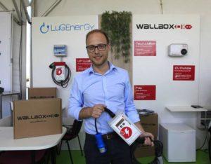 Hugo Mestre, director comercial lugenergy, en ecomov valencia