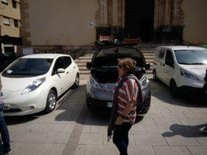 exposicion y prueba de conduccion