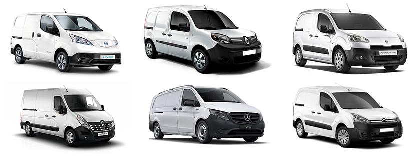 Modelos de furgonetas eléctricas