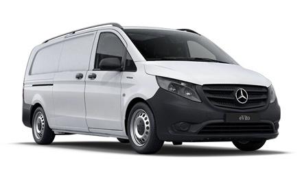 Furgoneta Mercedes eVito