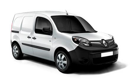 Furgoneta eléctrica Renault Kangoo ZE