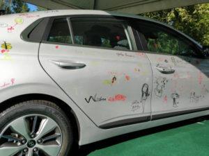 coche electrico exposicion