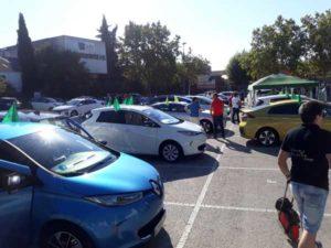 prueba de coches electricos