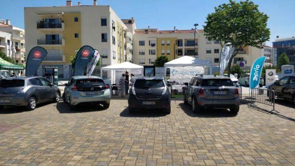 exposicion de coches electricos ENVE 2019