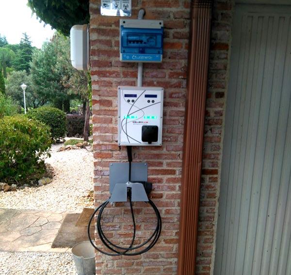 como cargar coche electrico si no tengo garaje