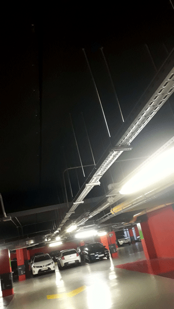 preinstalacion de punto de recarga en garaje comunitario