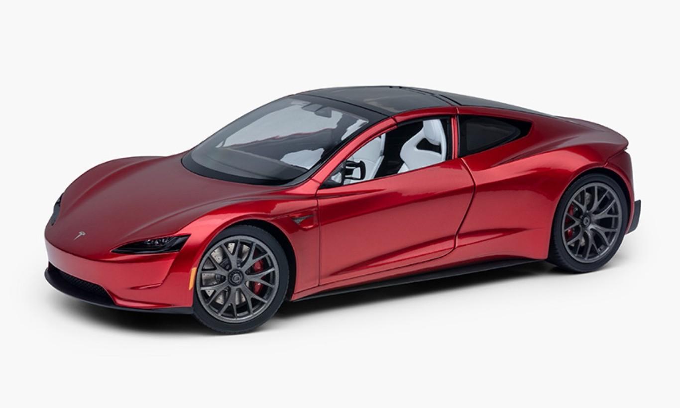 Punto de recarga Tesla Roadster