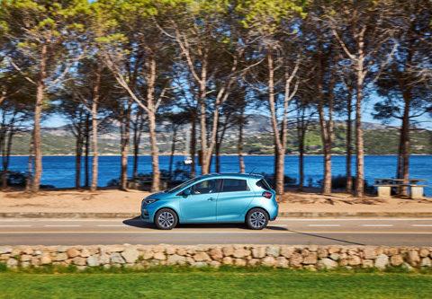 Venta de coches eléctricos en enero 2020