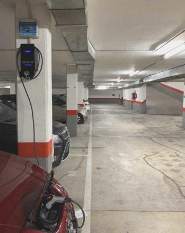 cuanto cuesta instalar un cargador vehículo eléctrico