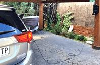 puntos de recarga en garajes privados