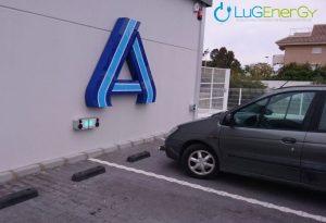 Instalación de puntos de recarga en ALDI