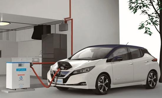 Nissan Leaf con tecnología V2G