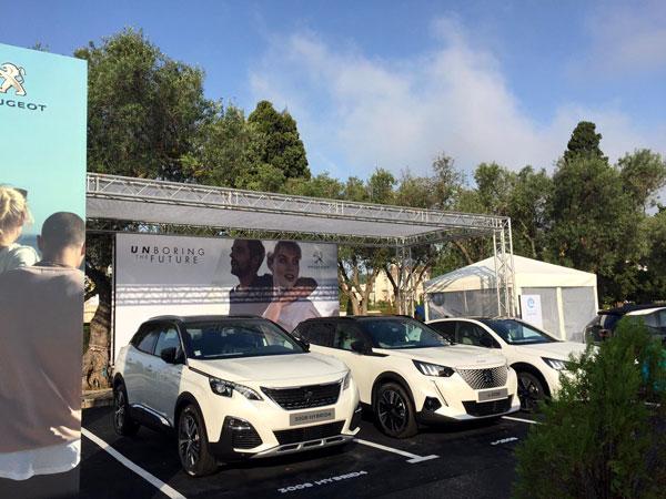 Exposición Peugeot