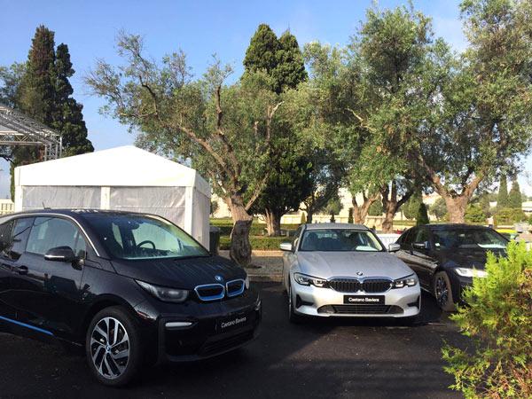 Exposición Vehículos Eléctricos BMW