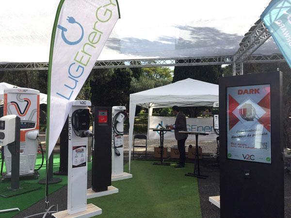 Stand LugEnergy en el Encuentro Nacional de Vehículos Eléctricos Portugal