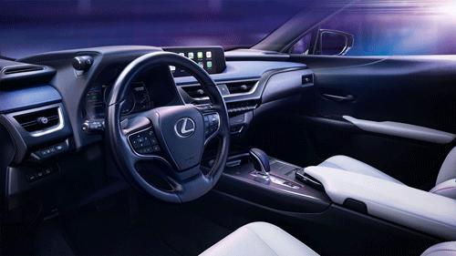 Diseño interior del Lexus300