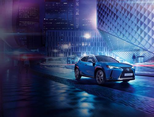 Diseño exterior del coche eléctrico Lexus300