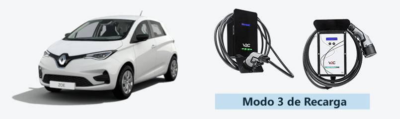 Nuevo Renault Zoe eléctrico: carga en modo 3
