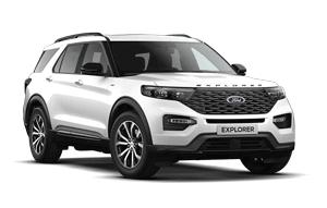 Punto de recarga para Ford Explorer
