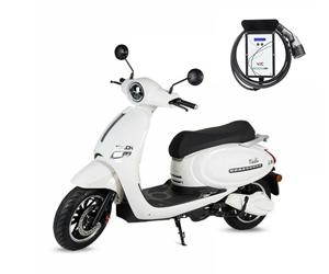 Cargador para moto eléctrica