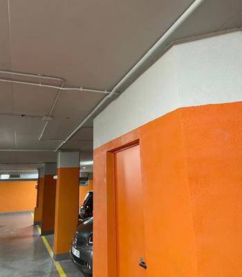 Cableado en la instalación de un punto de recarga en garaje comunitario