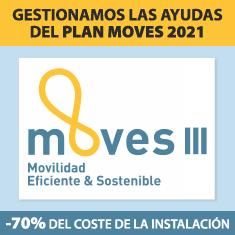 Gestión de las ayudas del Plan Moves para Puntos de Recarga