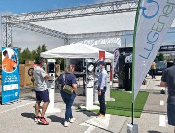 Stand de LugEnergy en ENVE 2021