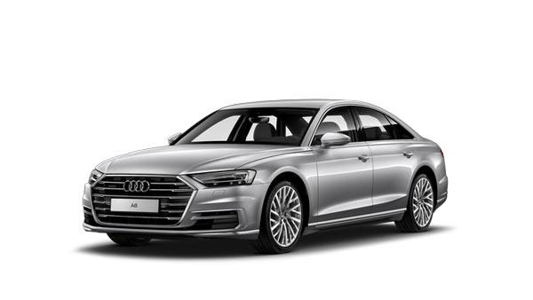Es un coche híbrido enchufable de la marca Audi