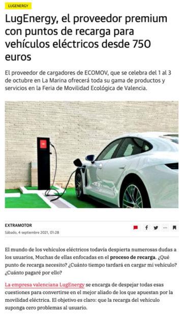 LugEnergy en Las Provincias