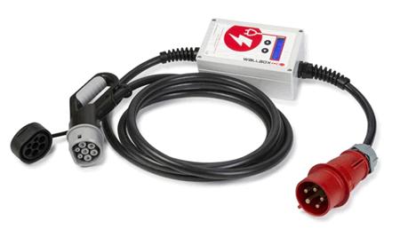 Punto de recarga portátil conector IEC 62196